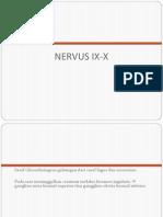 Anatomi Dan Perjalanan Nervus IX Dan X