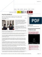 09-09-14 Revisan diputados Informe Presidencial.
