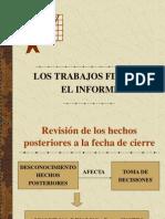 EL INFORME DE AUDITORIA Y LOS TRABAJOS FINALES.ppt
