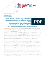 10.15.14 -- Kettle Moraine Lutheran HS It Can Wait Event