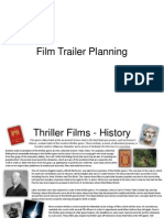 film trailer ideas