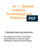 3-General Anatomy, Terminology and Positioning