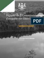 Rapport de la Commission d'enquête sur Elliot Lake