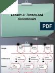 Toeic 700 Lesson 4 Tenses & Conditionals