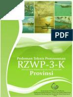 Pedoman Teknis Penyusunan RZWP3K Provinsi