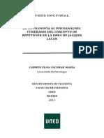 Tesis de La Filosofia Al Psicoanalisis Itinerario Del Concepto de Repeticion en La Obra de Jacques Lacan Libre