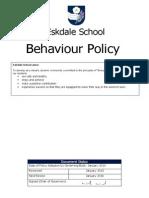 Behaviour Policy