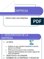 comocrearunaempresa-090422070754-phpapp02.ppt