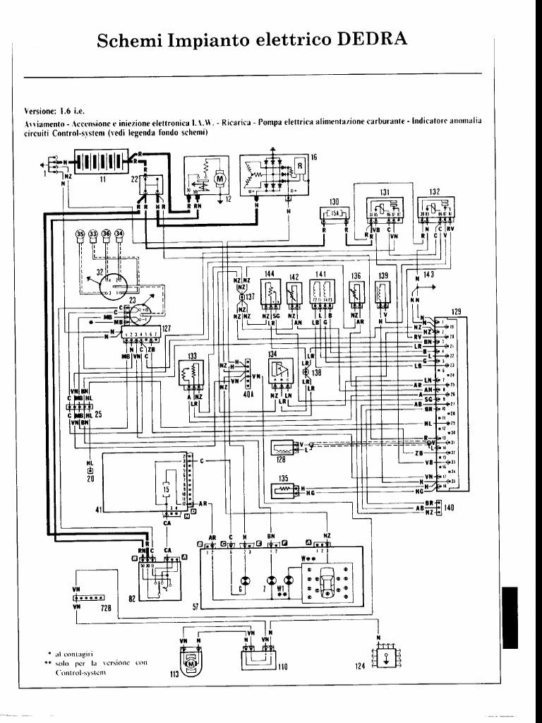 Cablaggio Cat 6 Schema : Schemi elettrici lancia dedra