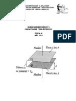 Disc. N° 5. Capacitores y Dieléctricos.doc