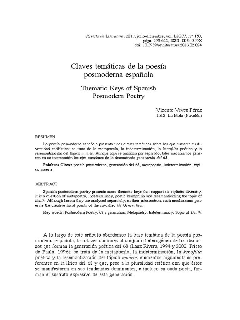 Claves temáticas de la poesía posmoderna española.pdf
