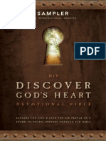 NIV Discover Gods Heart Devotional Bible Sampler