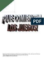 JUGAMOS A LOS JUEGOS OLÍMPICOS.doc