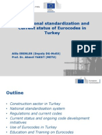 Eurocodes Turkey