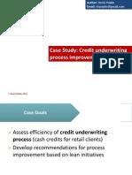 Credit Underwriting Process Improvement
