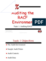 Auditing Racf