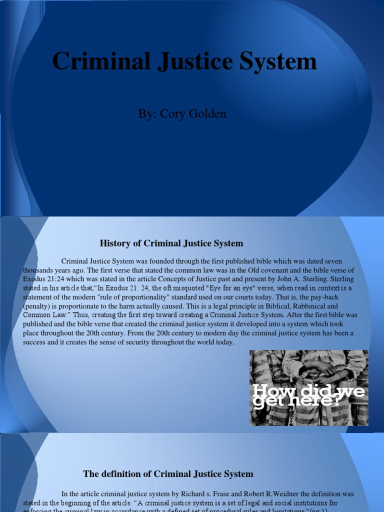 criminal justice system | prosecutor | criminal justice