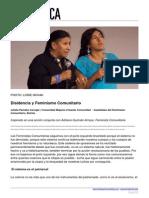 Dosier Disidencia y Feminismo Comunitario