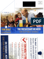 PSEA Mailer for Tom Wolf