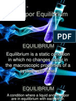 Liquid Vapor Equilibrium