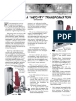 Personal Training Newsletter