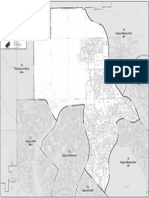 Calgary-Foothills polling subdivision map