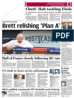 october 8 2014 sports front