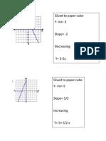 paper cube practoce