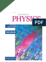 Advanced Physics Tom Duncan Fifth Edition