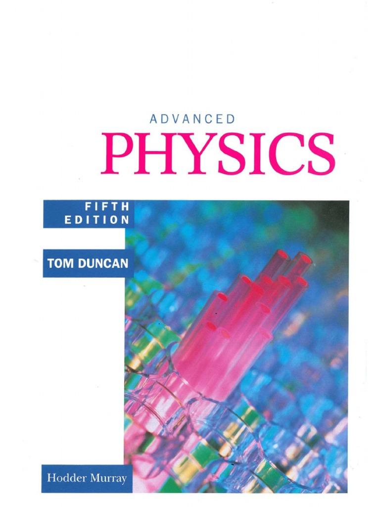 advanced physics tom duncan pdf free download