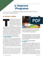 5 Ways to Improve Tutoring Programs