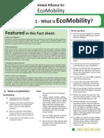 Eco Mobility Factsheet