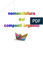 1. Nomenclatura Dei Composti Organici
