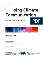 Mapping Climate Communication