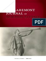 The First Issue of the Claremont Journal of Mormon Studies