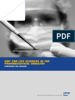 SAP for Life Sciences for the Pharmaceutical Industry