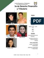 Monografia de Derecho Financiero y Tributario.docx