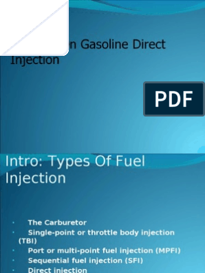 Seminar on GDI (Gasoline Direct Injection) 97-03 Final Copy