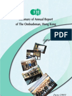 Summary of Annual Report Summary Administration