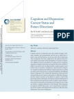 Cognition and Depression a Review