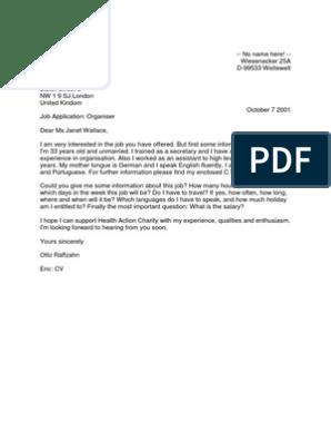 Contoh Surat Resmi Dalam Bahasa Inggris Beserta Artinya