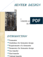 Fermenter Design