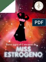 BASES PARA EL CONCURSO DE MISS ESTROGENO 2014 último.docx