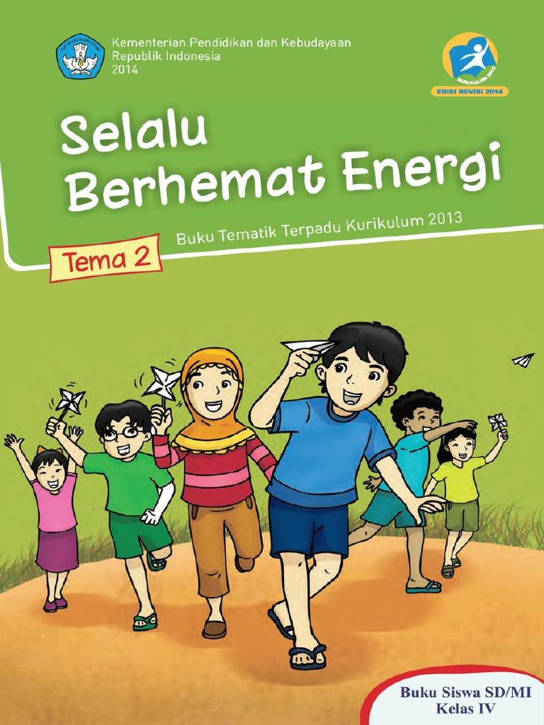 Tematik 2 Selalu Berhemat Energi Siswa