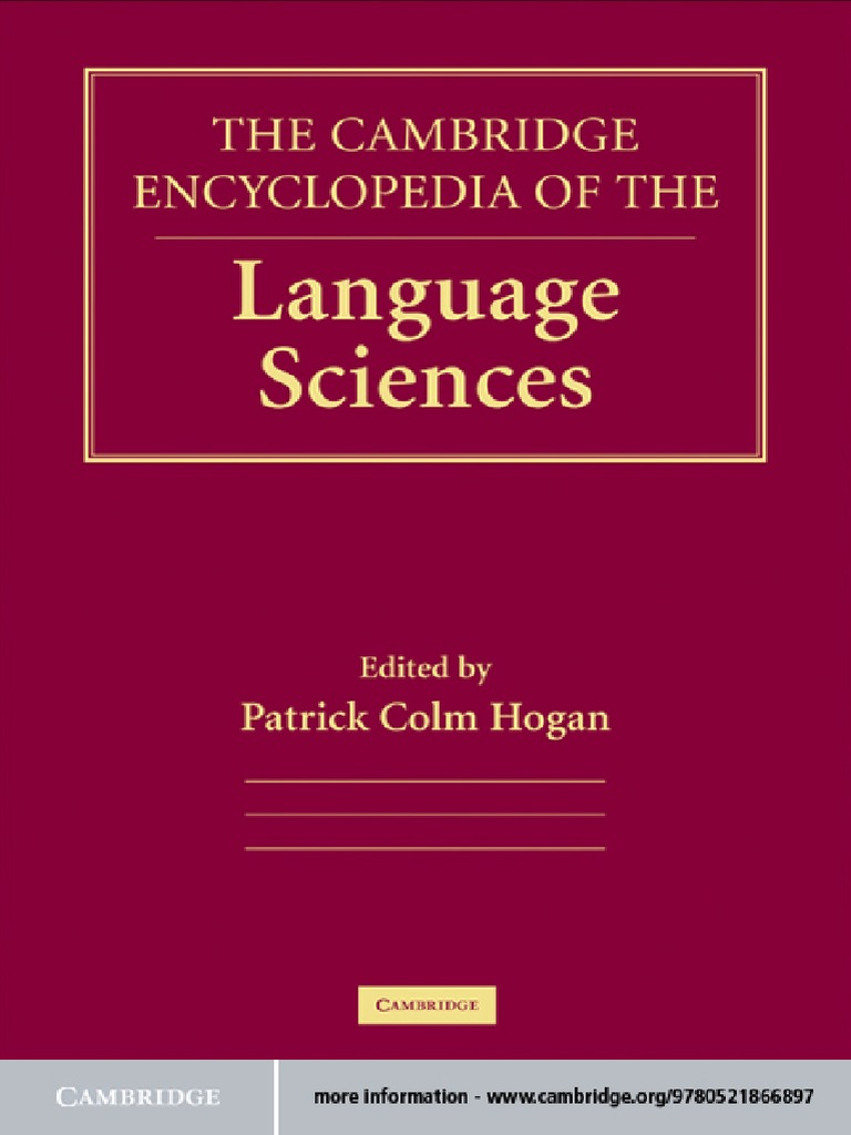 Cambridge encyclopedia of language sciencespdf fandeluxe