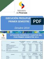 Presentacion Ejecucion PGE Primer Semestre 2014.pptx