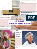food technology  rules poster 1