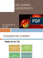 CANCER DE OVARIO manejo quirurgico juan.pptx
