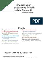Tanaman Yang Mengandung Fenolik Selain Flavonoid