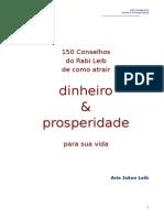 150 CONSELHOS DO RABINO PARA ATRAIR DINHEIRO E PROSPERIDADE - Auto Ajuda.doc